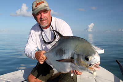 30- pound Lower Keys permit caught by Louis Salemy